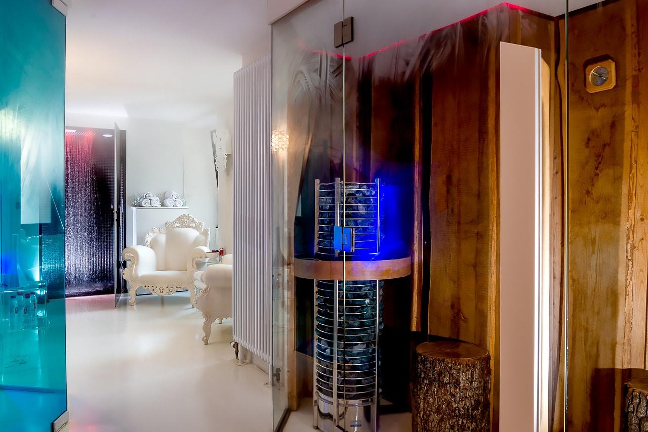 Incroyable salle de bain avec hammam