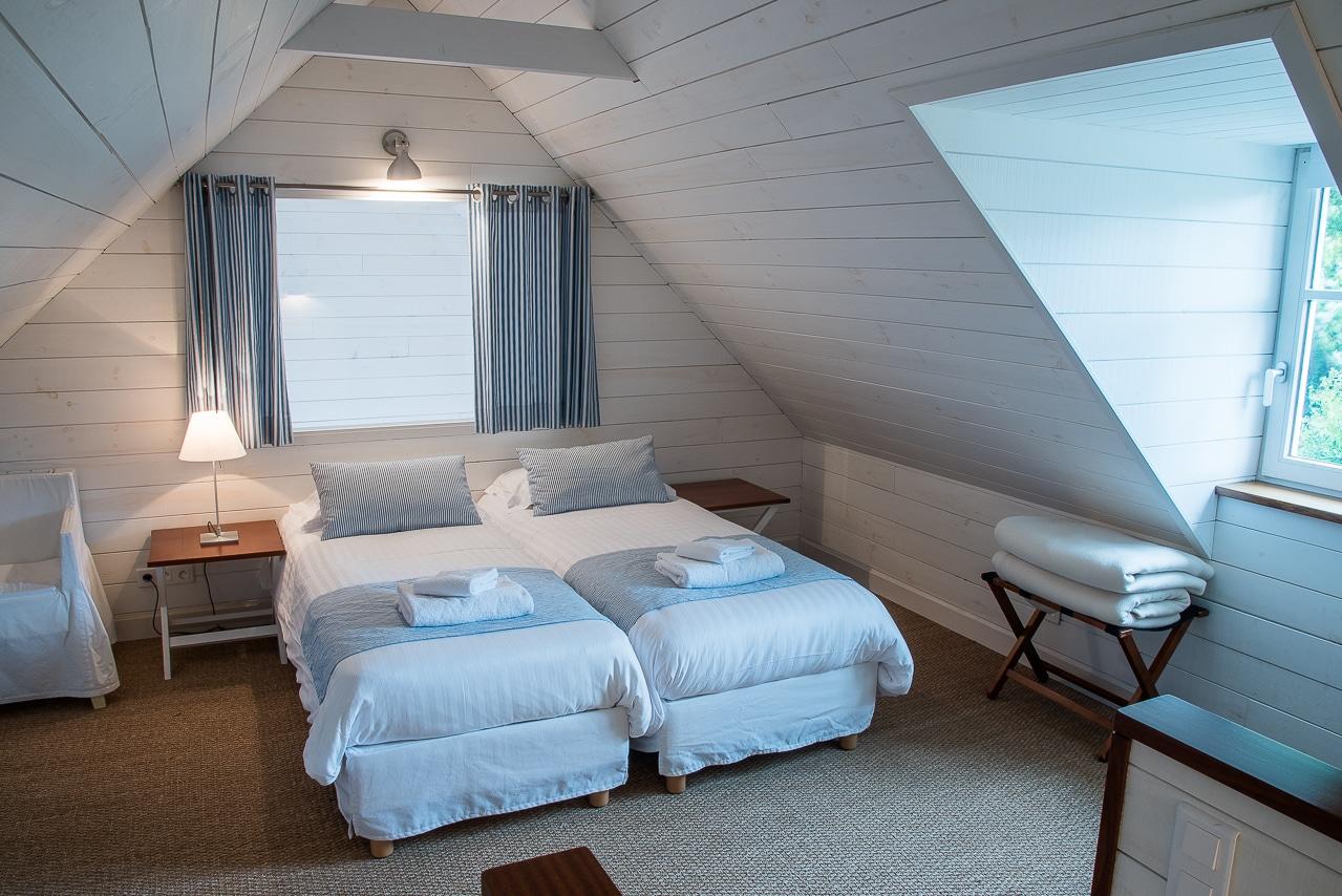Chambres avec deux lits jumeaux