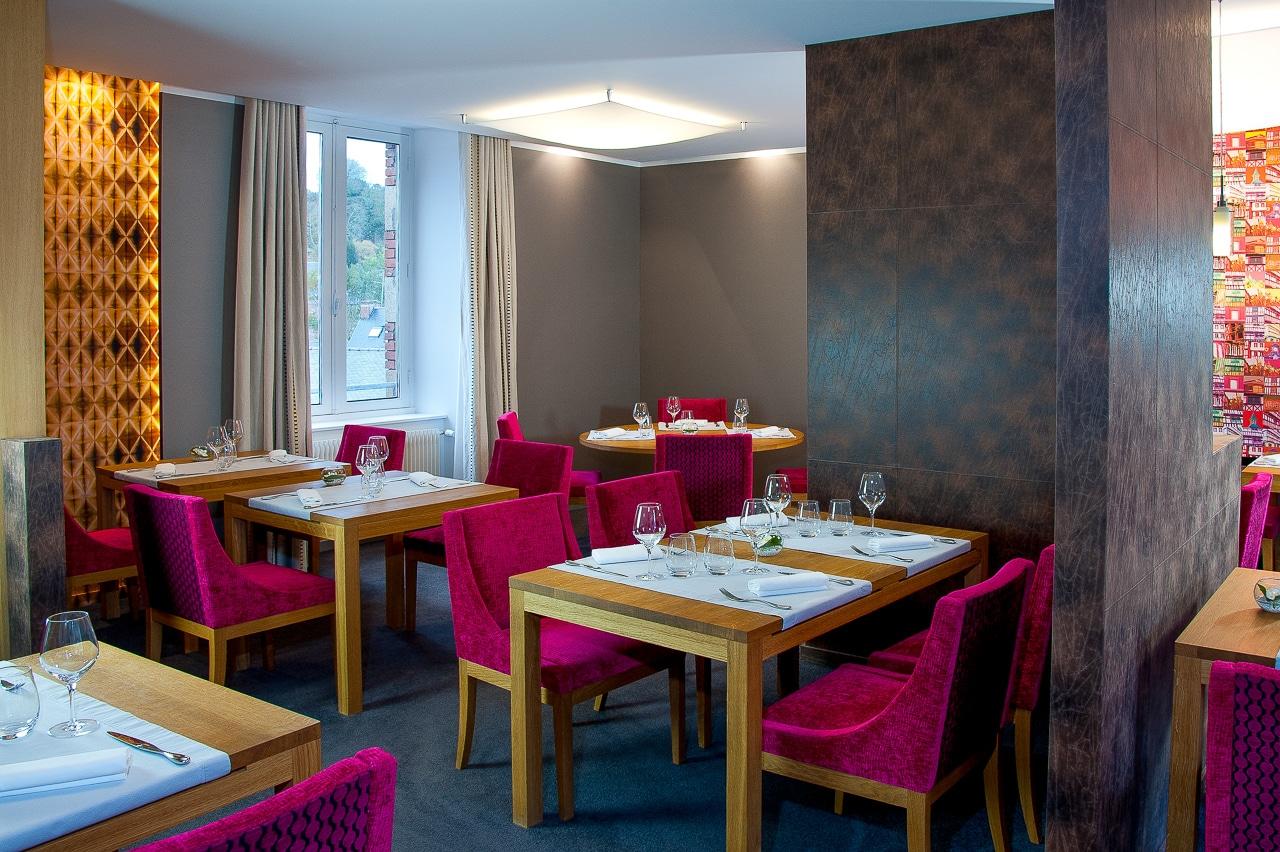 Salle de restaurant l'Anthocyane