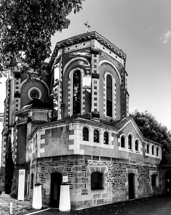 L'hôtel Sozo à Nantes dans une ancienne  chapelle