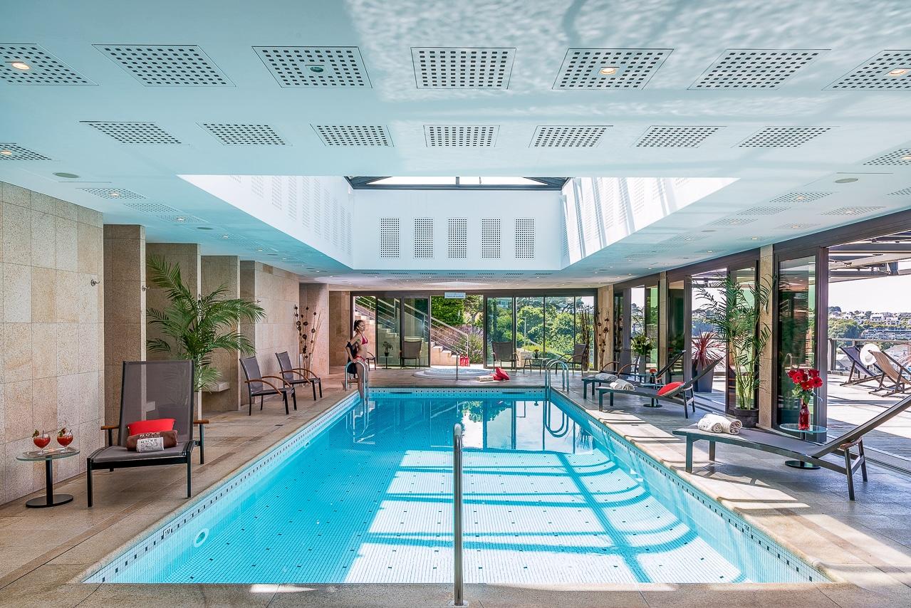 Splendide piscine de l'hôtel Agapa