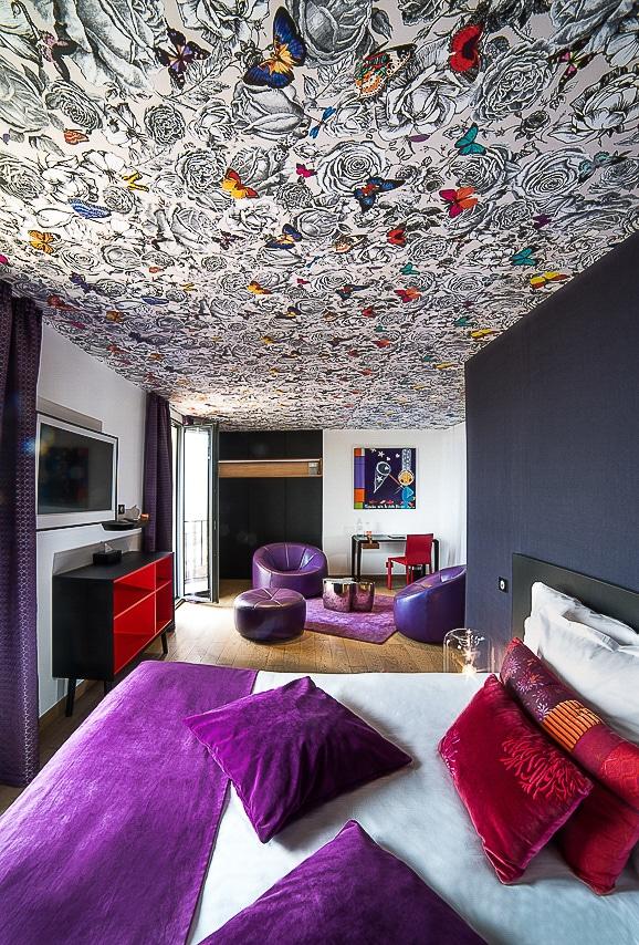 Splendide chambre de l'hôtel
