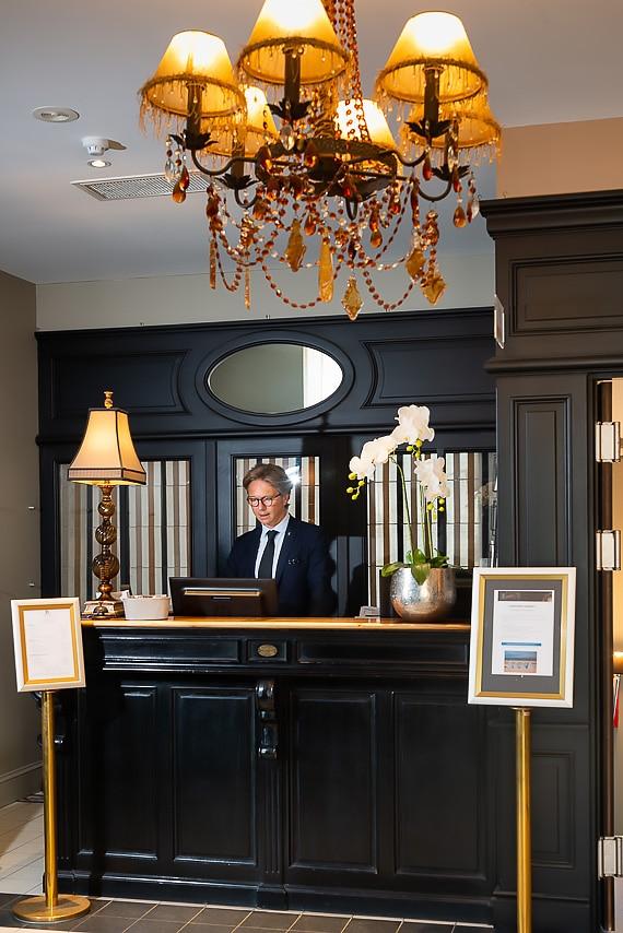 Récéption de l'hôtel Royal Emeraude à Dinard