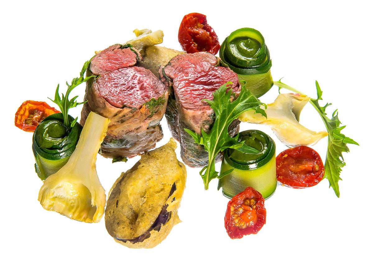 Plat de boeuf et légumes - la table de mon père
