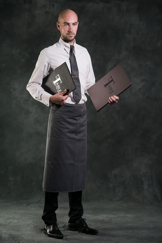 Portrait du serveur de la table de mon père
