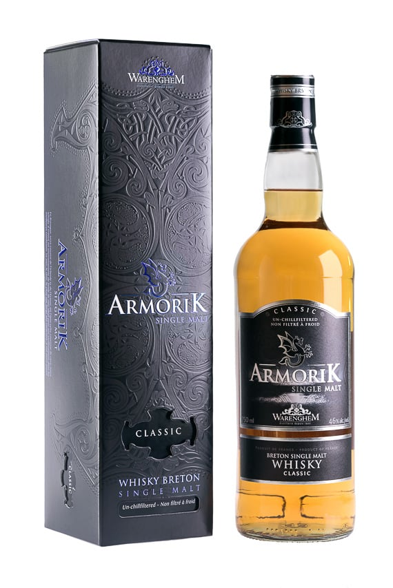 Whisky breton Armorik single malt
